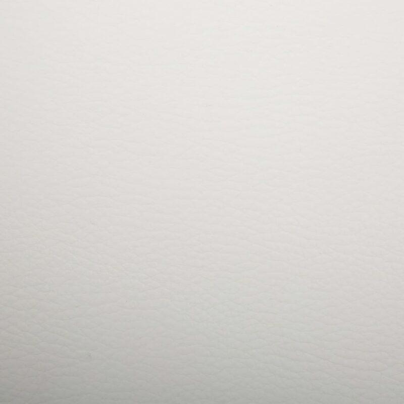 Eetkamerstoelen draaibaar 2 st kunstleer wit