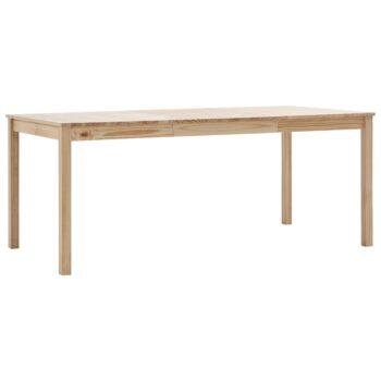 vidaXL Eettafel 180x90x73 cm grenenhout