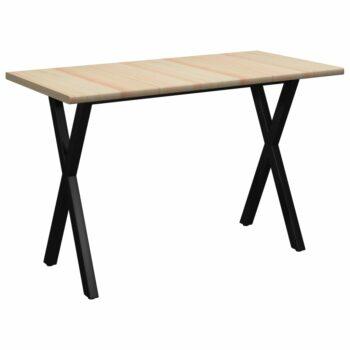 vidaXL Eettafel 140x70x76 cm grenenhout