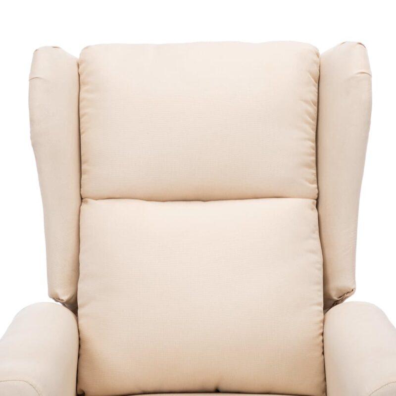 Sta-op-stoel stof cr?me